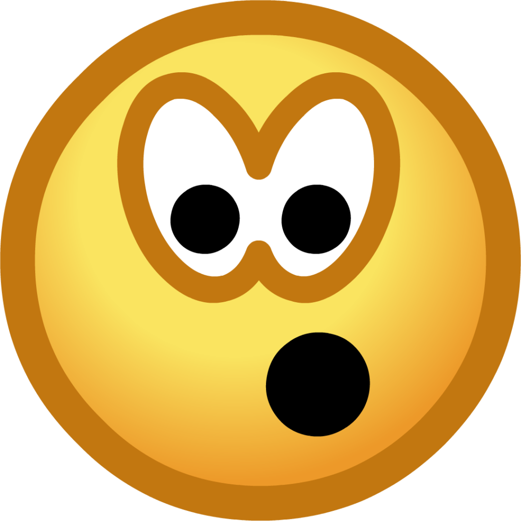 Shocked Smiley  ClipArt Best