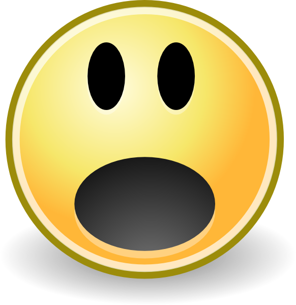 Picture Of Shocked Face  Clipartsco