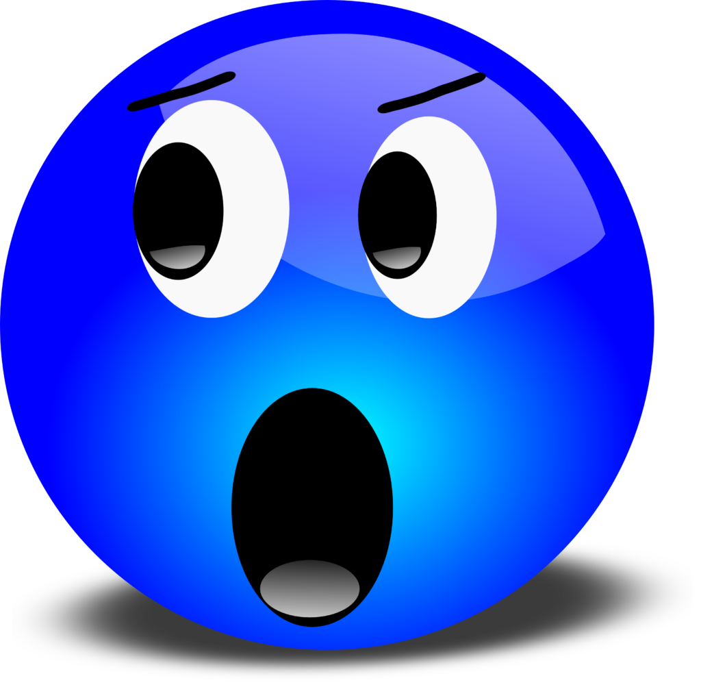 Free 3D Yelling Smiley Face Clipart Illustration
