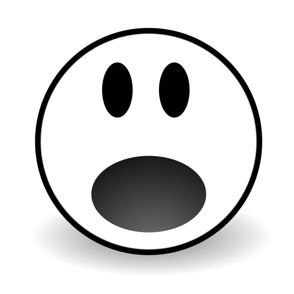 Shocked Smiley Face Clipart  Free download on ClipArtMag