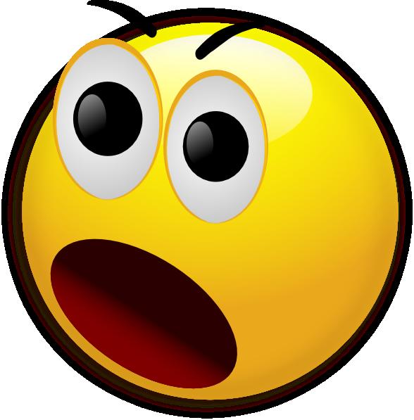 Shocked Face Clip Art  Clipartsco