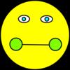 Sick Smiley Face Clip Art at Clkercom  vector clip art