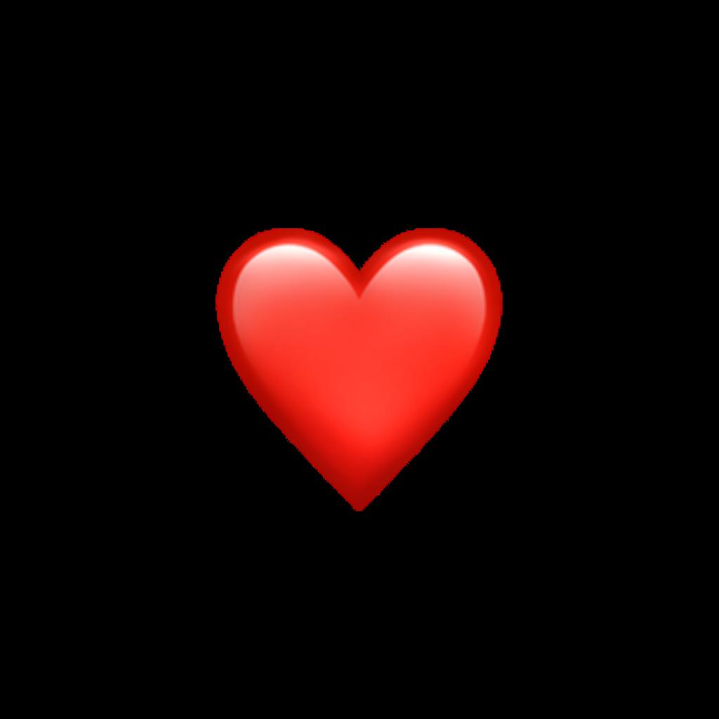 redheart heart emoji emojisticker
