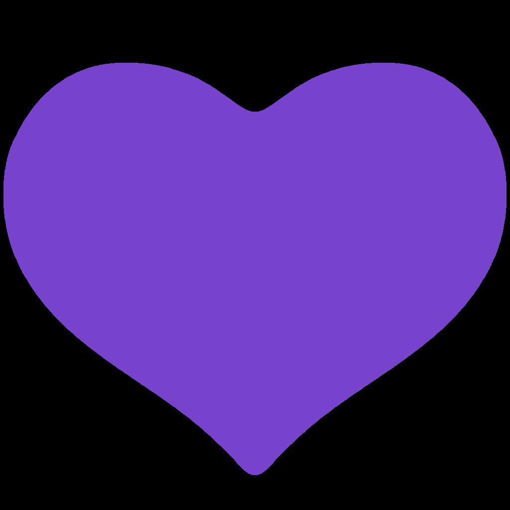 Purple Heart Emoji Background  fondo de pantalla tumblr