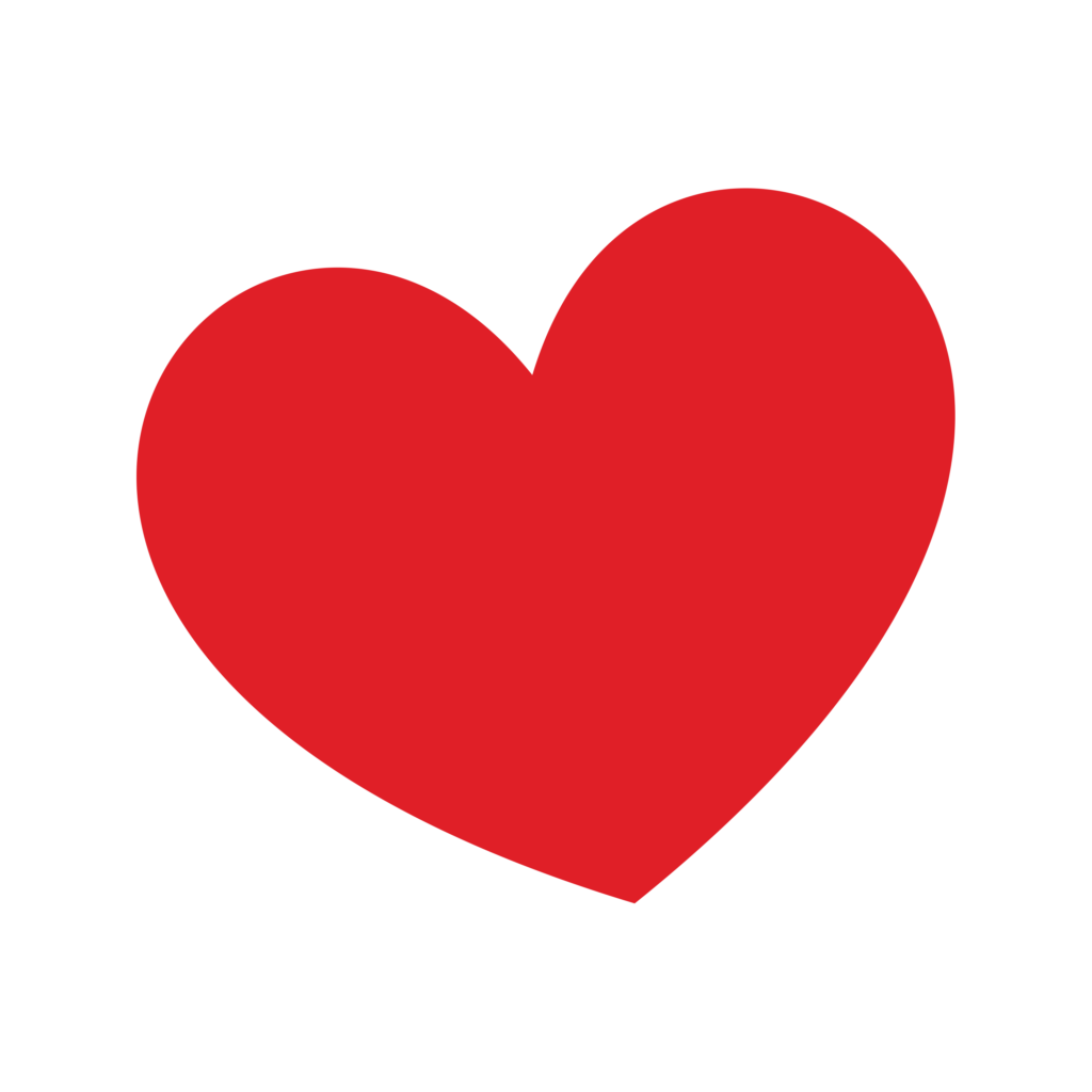 Classic Red Heart  Love heart emoji Red heart Classic red
