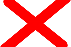 Red x icon transparent background 6  Background Check All