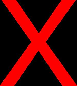 Big Red X Clip Art at Clker.com - vector clip art online ... - Small Red X