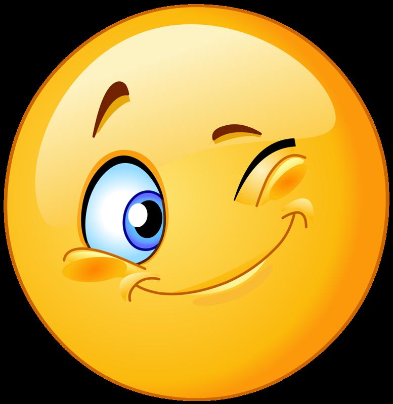 Positive clipart transparent background happy face