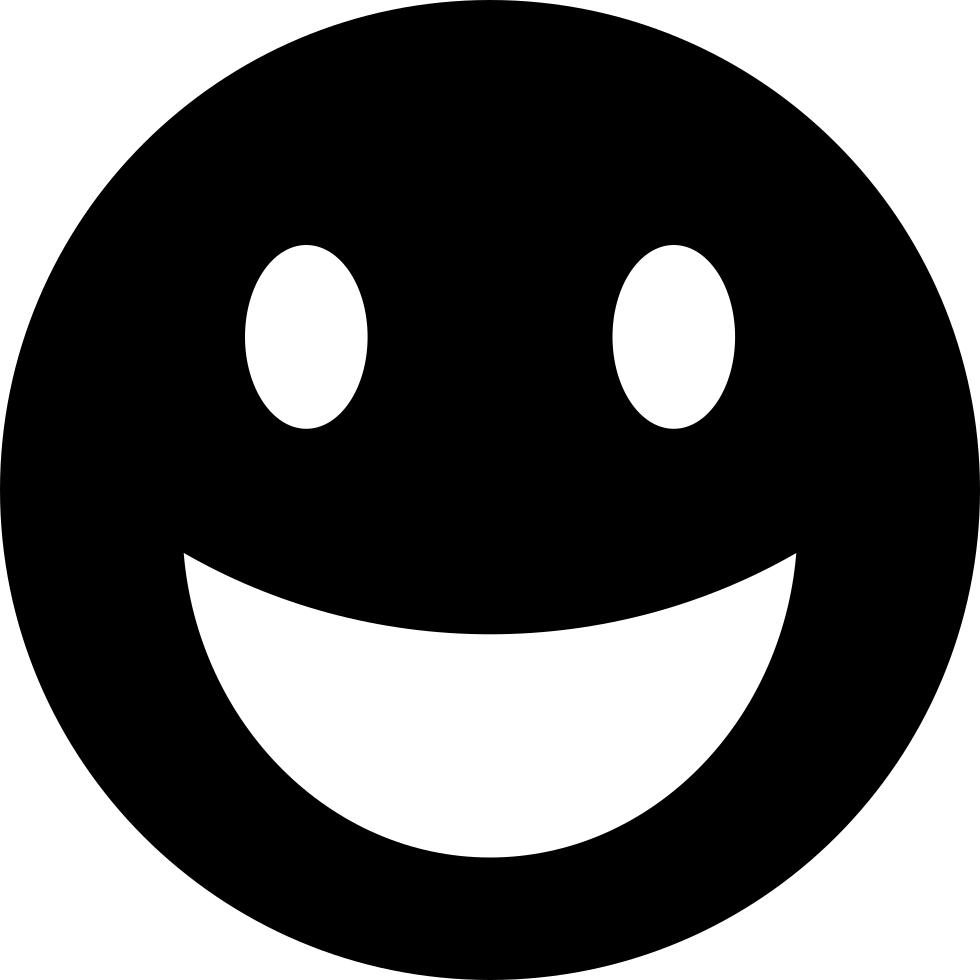 Download HD Happy Emoticon Svg Icon  Smiley Face