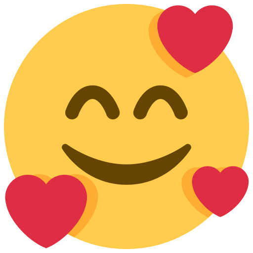 Smiling Face with 3 Hearts Emoji Meaning with Pictures
