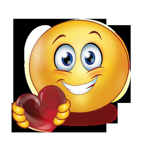 Holding Heart Emoji
