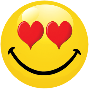 Smiley Face With Heart Eyes  ClipArt Best