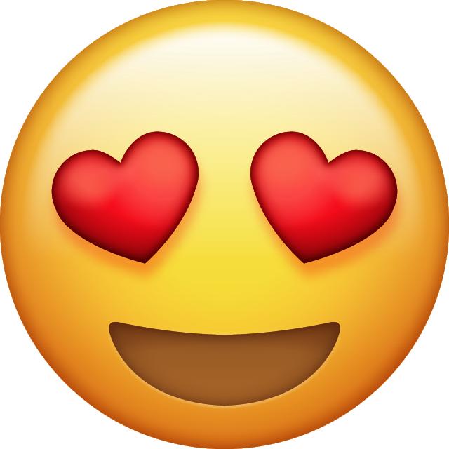Download Heart Eyes Emoji With images  Eyes emoji