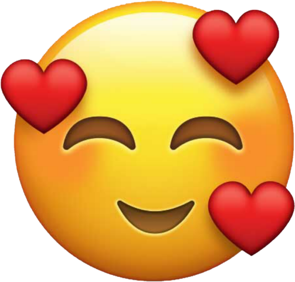 Heart Face Emoji Png  Free Heart Face Emojipng