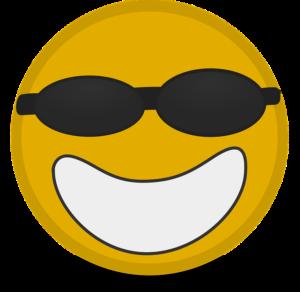 Cool Ikonen Matt · Kostenlose Vektorgrafik auf Pixabay - Smiley Face with Shades