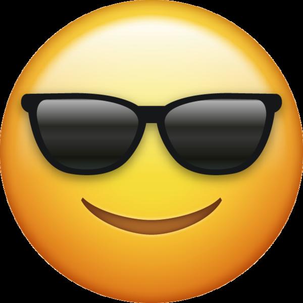 Sunglasses Emoji Free Download Cool Emoji  Emoji Island