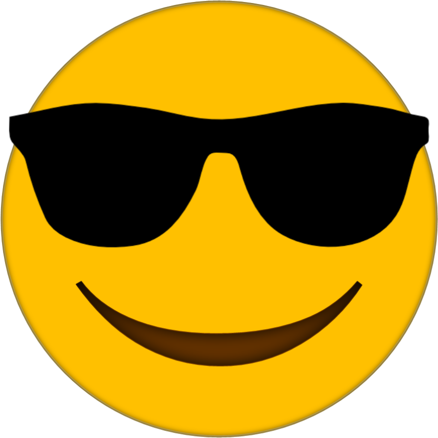 Smiley Faces Sunglasses  Free download on ClipArtMag