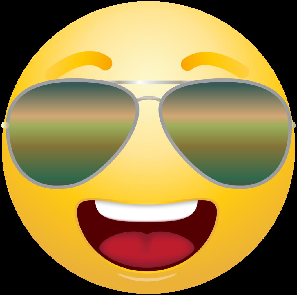 Clipart sunglasses emoticon Clipart sunglasses emoticon