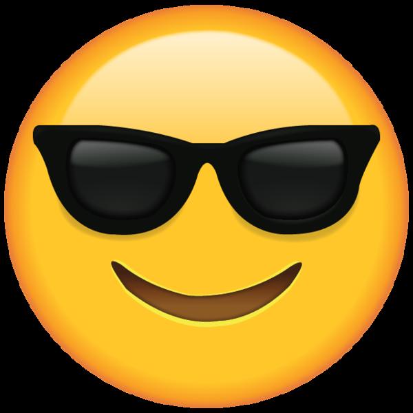 Sunglasses Emoji | Dessin emoji, Emoticone, Anniversaire emoji - Smiley Face with Shades