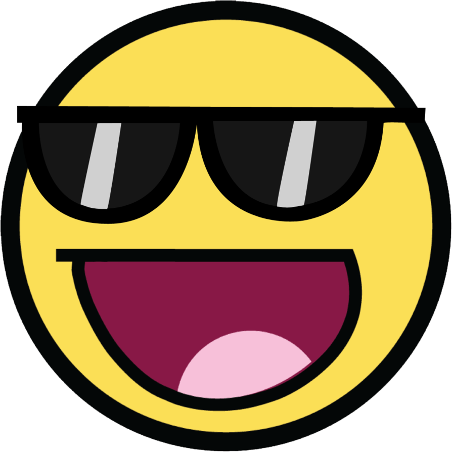 awesome face  Awesome Face Shades by RandomationArt on