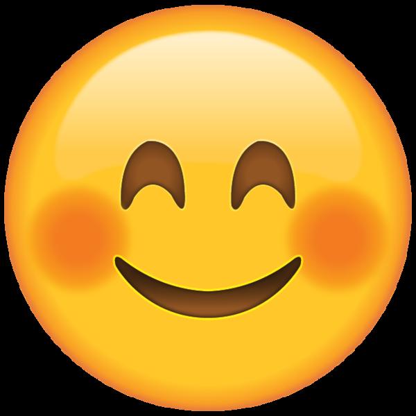 Download Smiling Face Emoji with Blushed Cheeks  Emoji Island