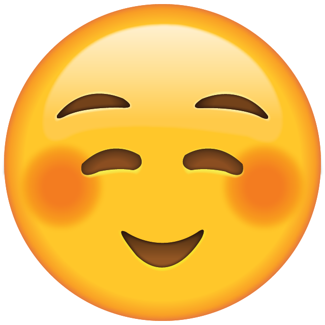 Download Shyly Smiling Face Emoji  Emoji Island