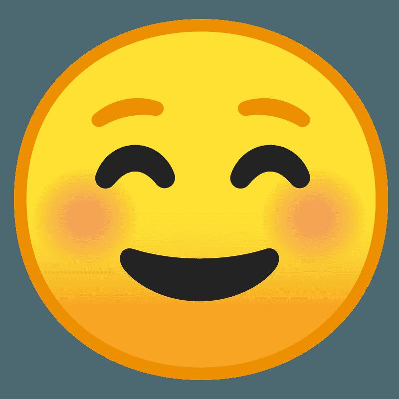 Smiling face emoji clipart Free download transparent PNG