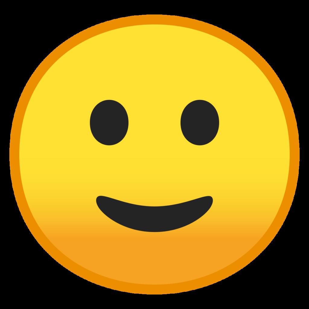 FileNoto Emoji Oreo 1f642svg  Wikimedia Commons