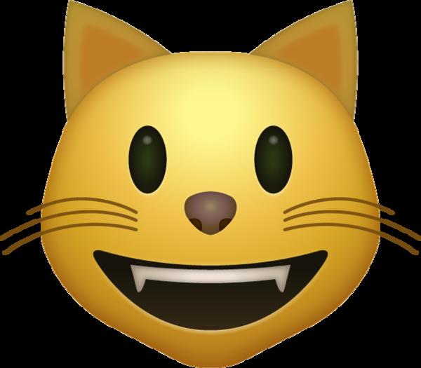 Smiling Cat Emoji Free Download IOS Emojis  Emoji Island