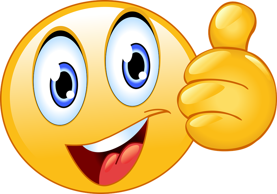 Thumbs Up Smiley Face Emoji  Free vector graphic on Pixabay