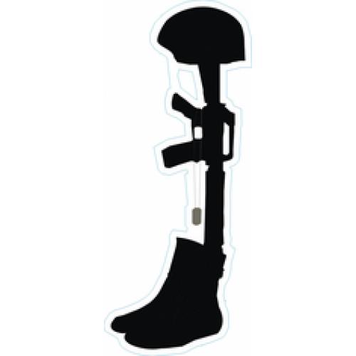 Vietnam Veterans Memorial Soldier Battlefield Cross