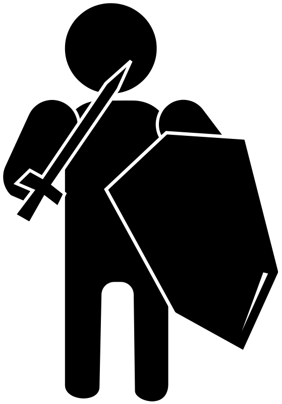 Silhouette Soldier 102725 Free SVG Download  4 Vector