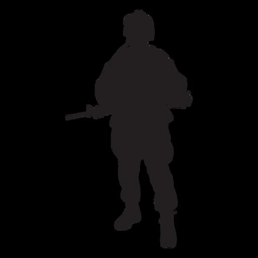 Silhueta de soldado das forças especiais  Baixar PNGSVG