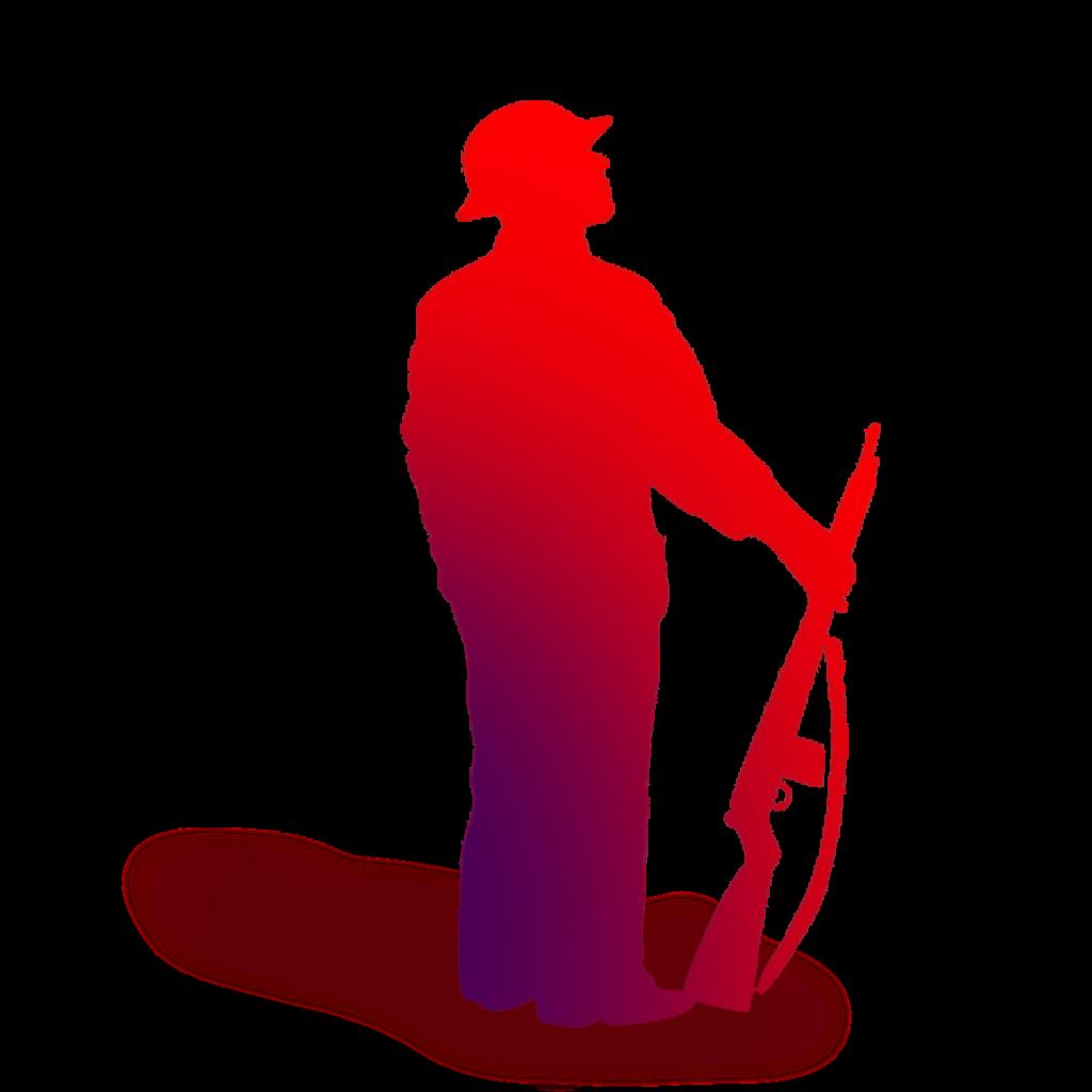 Soldier Silhouette Royaltyfree Illustration  Soldiers