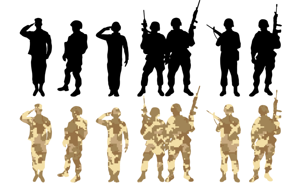 Soldier Salute Army  Vector soldier png download  3270