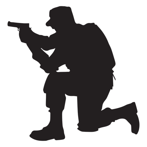 The best free Aiming silhouette images Download from 58