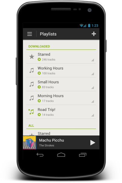 Spotify for Android 40 launches in Google Play Store