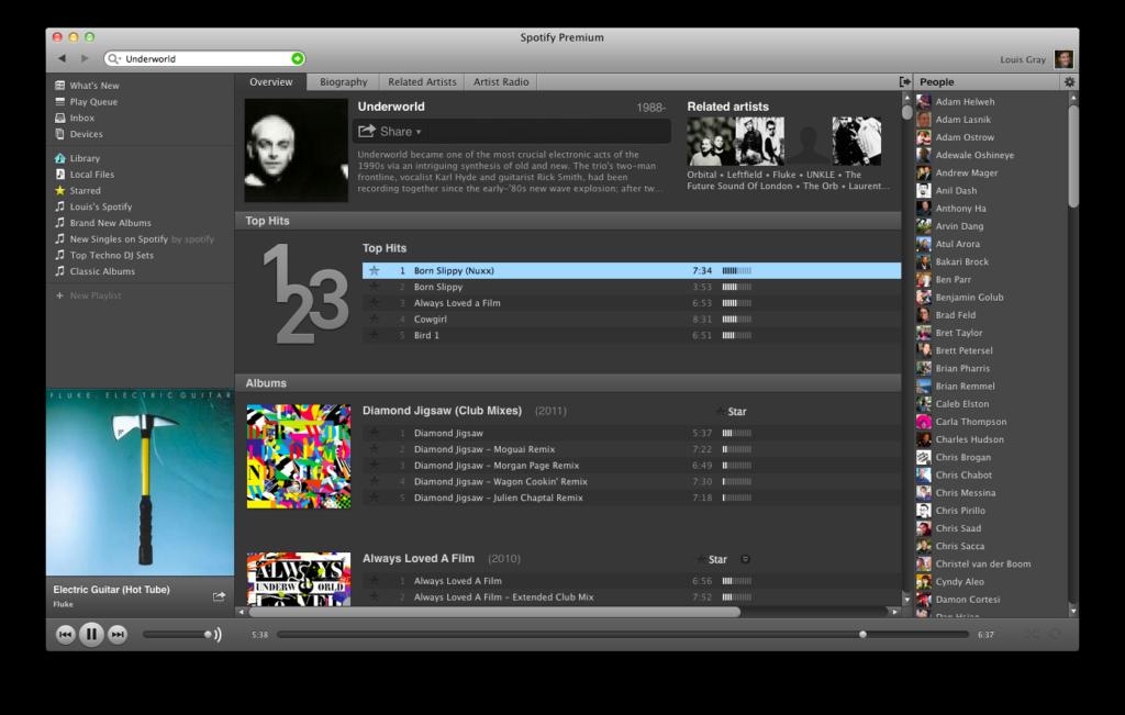 louisgraycom Spotifys Artist Radio is Music Discovery