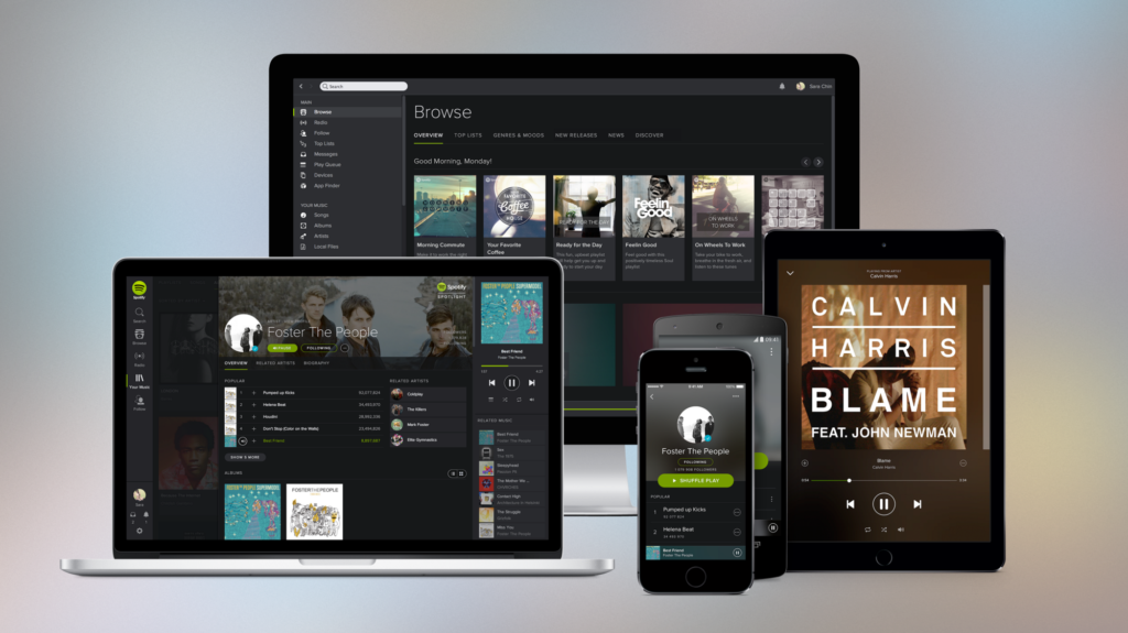 Design Doesnt Scale  Spotify premium Streaming movies