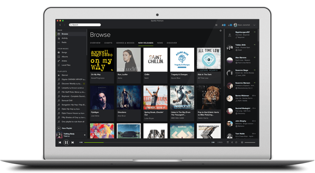 Music for everyone  Spotify  High school Music player