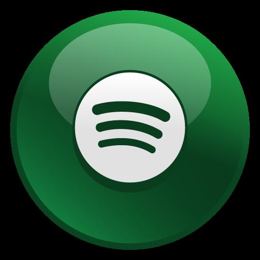 Spotify Icon  Glossy Social Iconset  Social Media Icons