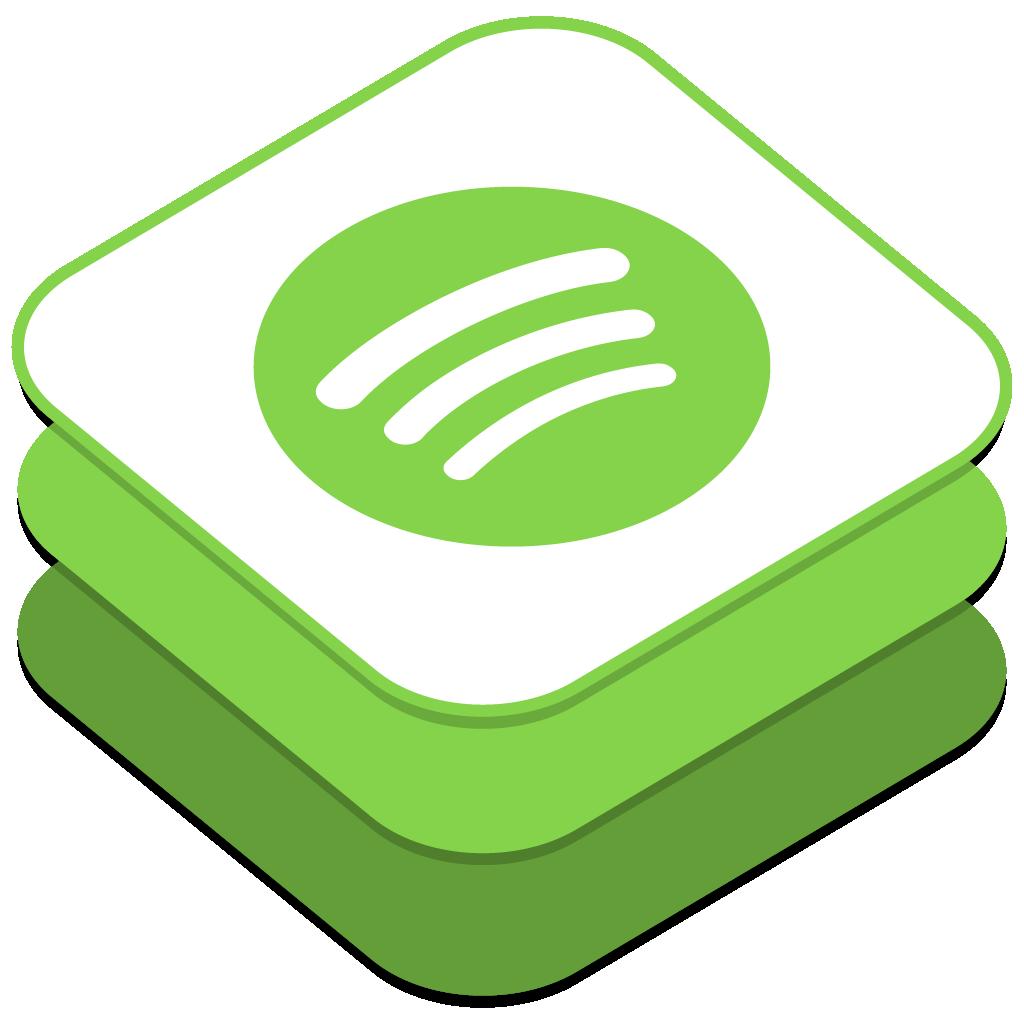 Spotify Icon  iOS8 Style Social Iconset  DesignBolts