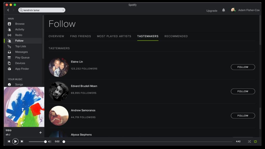 Spotify Refocused