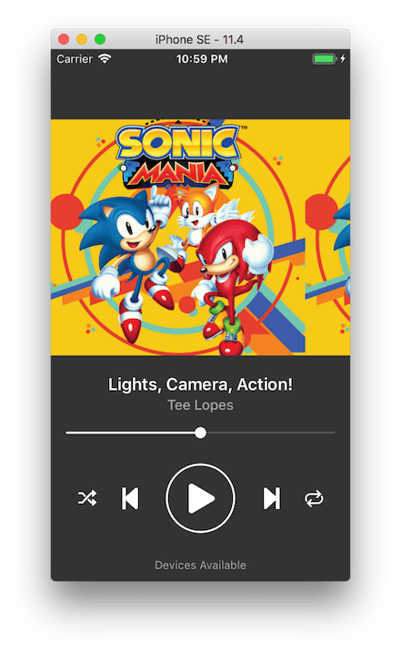 Replicating Spotifys Now Playing UI using Auto Layout