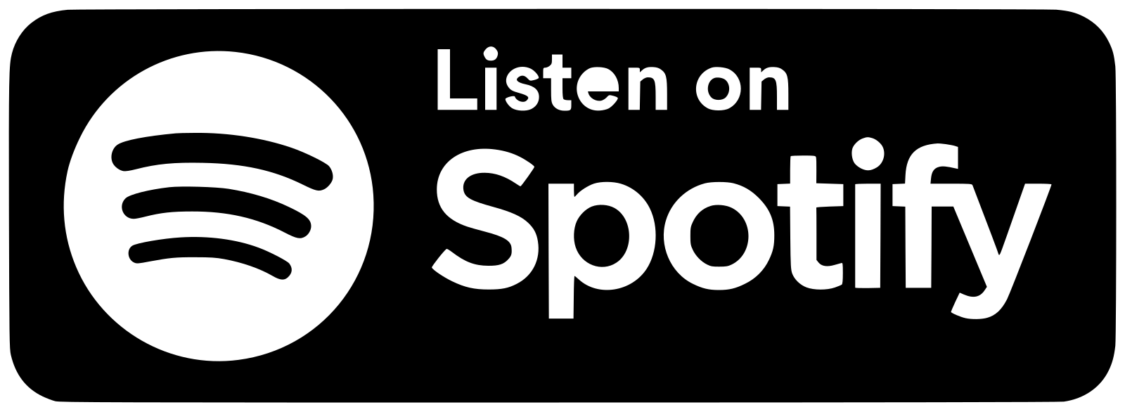 Datei:Spotify Badge White.svg – Wikipedia - Spotify Logo TRANSPARENT White