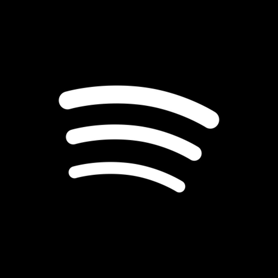 Download High Quality spotify logo transparent black