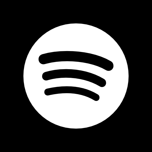 White Spotify Icon at Vectorifiedcom  Collection of