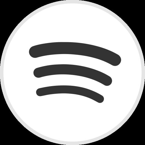 Logo media social spotify icon