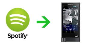 How to play Spotify music on Sony Walkman