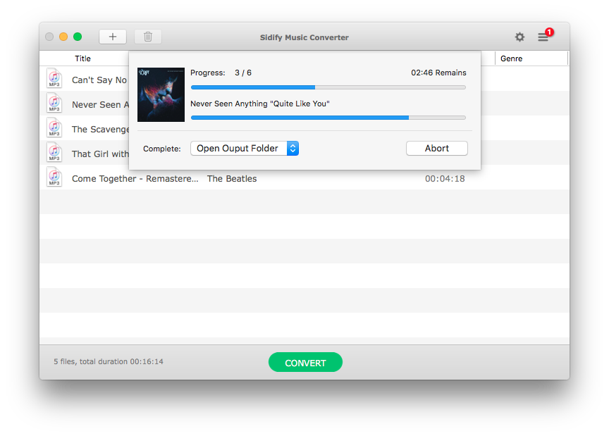 Sidify Music Converter Spotify  Audio Conversion Software for